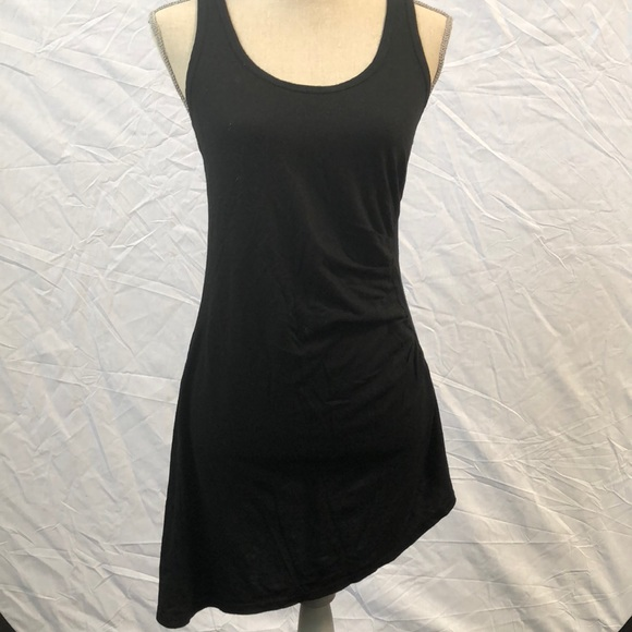 4208265828 Hard Tail Dresses   Skirts - Asymmetrical black shirt dress